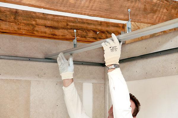 Стоимостьза монтаж потолка из гипсокартона