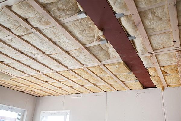 Утеплитель для потолка дома