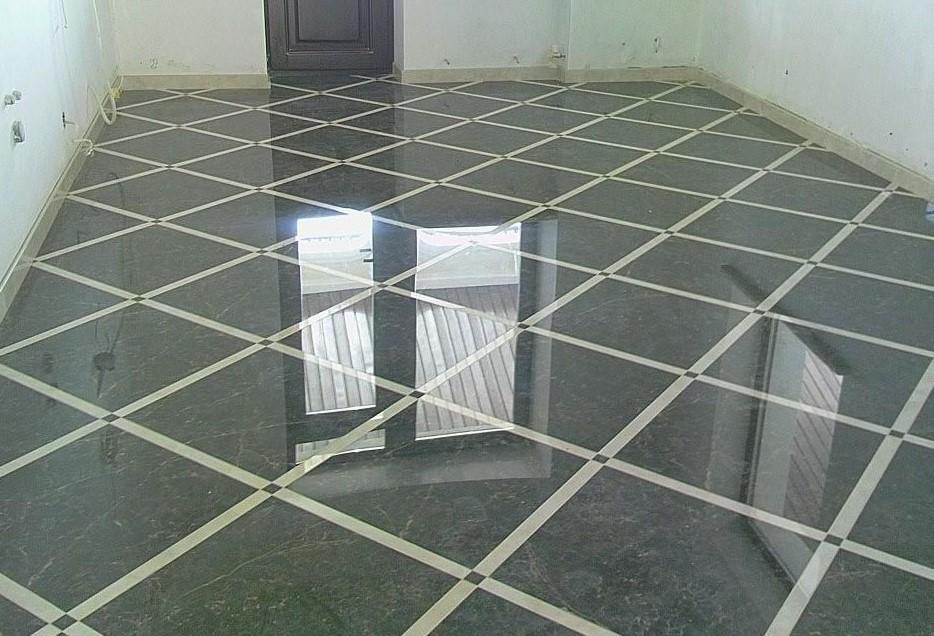 Наливной пол на керамическую плитку