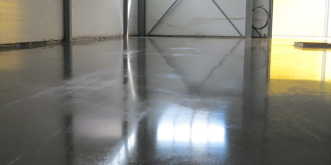Топпинг бетонного пола